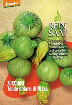 Zucchini 'Tondo chiaro di Nizza' (Bio-Saatgut, AT-BIO-301)