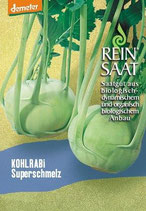 Kohlrabi 'Superschmelz' (Bio-Saatgut, AT-BIO-301)