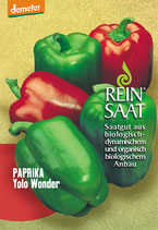 Paprika 'Yolo Wonder' (Bio-Saatgut, AT-BIO-301)