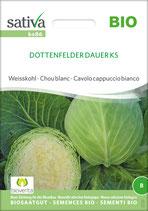 Weißkohl 'Dottenfelder Dauer' (Bio-Saatgut, CH-BIO-006)