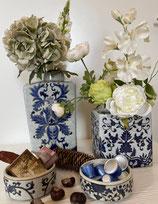 Pumpkin Blue Vasen-Set (2Vasen/Dosen)