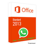 MS Office 2013 Standard PRODUCT KEY - POSTBRIEF-VERSAND - 32 / 64 Bit - 1 Aktivierung / 1 PC + Anleitung von U-S-B Unleashed-Shop-Bolt®