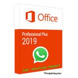 MS Office 2019 Professional Plus PRODUCT KEY - E-Mail Versand - 32 / 64 Bit - Produktschlüssel/Aktivierungsschlüssel - 1 Aktivierung / 1 PC + Anleitung von U-S-B Unleashed-Shop-Bolt®
