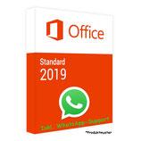 MS Office 2019 Standard PRODUCT KEY - E-Mail Versand - 32 / 64 Bit - Produktschlüssel/Aktivierungsschlüssel - 1 Aktivierung / 1 PC + Anleitung von U-S-B Unleashed-Shop-Bolt®