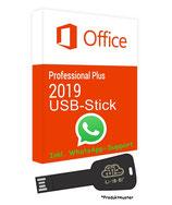 MS Office 2019 Professional Plus USB Stick - 32 / 64 Bit - Product Key - Produktschlüssel - 1 Aktivierung / 1 PC + Anleitung von U-S-B Unleashed-Shop-Bolt®