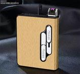 Elektrisches USB Lichtbogen Arc Feuerzeug-Zigarettenschachtel - Nachhaltig - Wiederaufladbar, ohne Benzin und Gas, komplett elektrisch betrieben