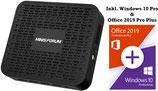 Minisforum® Mini PC inkl. Windows 10 Pro & Office 2019 Pro Plus - KOMPLETT STARTBEREIT Mini-PC