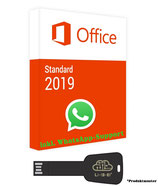 MS Office 2019 Standard USB Stick - 32/64 Bit - Product Key - Produktschlüssel - 1 Aktivierung/1PC + Anleitung von U-S-B Unleashed-Shop-Bolt®