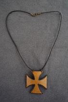 Collier croix Templière
