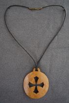 Collier,croix occitane.