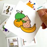 koek en fruit