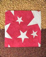 Kirschensteine / Traubenkernkissen Sterne Gross Rot 14
