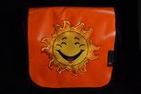 Kindergarten Tasche,  Blachen Tasche 25x25x10 cm Sonne