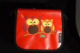 Kindergarten Tasche,  Blachen Tasche 25x25x10 cm Eule/UHU