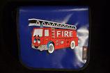 Kindergarten Tasche, Blachen Tasche 25x25x10 cm Feuerwehr