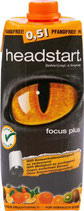 HEADSTART FOCUS PLUS: Instant Getränk - Tetra Pak 0,5l
