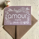 Carte postale AMOUR TOUJOURS