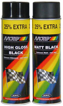 MOTIP Rallye Lack  500 ml - Schwarz Glanz Spray