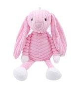 Knuffel konijn roze
