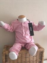 Babypakje roze/ wit streepje