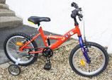 Vélo junior 14 pouces avec roulettes