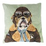 Coussin bull dog pilot.