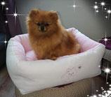 "Kuschelbett ""Pomeranian "" rosa"