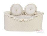 Plumetis Sofa Cream