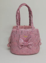 Luxy paiettes bag pink