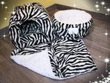 Kuschelset Zebra