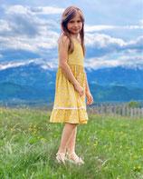 Fest/Sommerkleid  in gelb