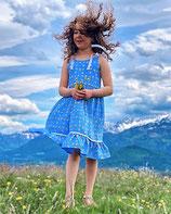 Fest/Sommerkleid  in blau