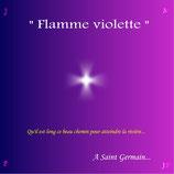 12- CD FLAMME VIOLETTE