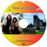 """01 - DVD Reportage """"Tous à Assise"""" autour du concert du 31 mai 2014"""