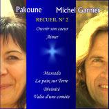 """04 - CD Recueil n°2 """"Ouvrir son cœur"""" et """"Aimer .."""