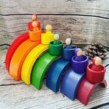 Sparset -Großer Regenbogen mit passenden Männchen im Becher