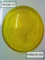 356 gelbe Scheinwerfer GLÄSER