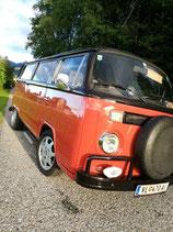 Blinkergläser VW Bus T2 weiss Paar