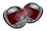VW Käfer Rückleuchten schwarz-rot-weiss