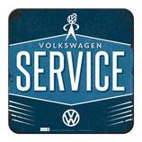 VW Service - Untersetzer aus Metall
