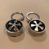 FUXX Schlüsselanhänger poliert /satin matt