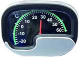Innen - Temperaturmesser oval