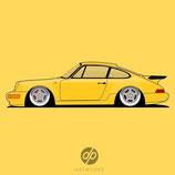 Poster 964 Turbo