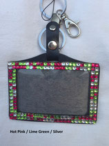 Bling Clip-on ID Holders