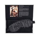 Beauty Pillow Luxury Silk Eye Mask - Black