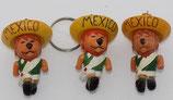 WM 1970 - Willie goes to Mexico - Komplettsatz Schlüsselanhänger