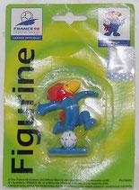 WM 1998 - Footix mit Ball am Fuß - OVP