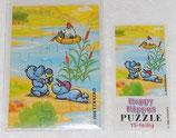 Puzzle - Die Happy Hippos 1988 - OR mit BPZ