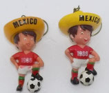WM 1986 - Junge mit Sombrero - beide Varianten im Set