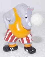 Rhino Raubein 1990 - Dioramafigur